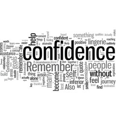 How to jump start your confidence immediately vector