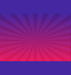 purple radial retro background purple and pink vector image