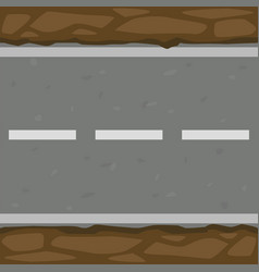 Seamless pattern background asphalt road and vector