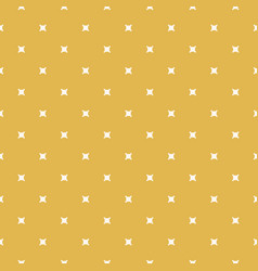 yellow minimalist geometric seamless pattern vector image