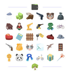 finance weapons animal and other web icon in vector image vector image