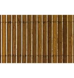 Wood panels vector image