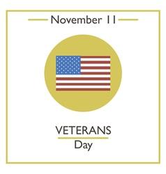 Veterans Day vector image vector image