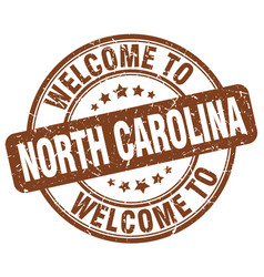 Welcome to north carolina vector