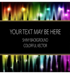 abstract glowing rainbow background Eps10 vector image