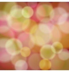 Abstract background with bokeh light effects vector