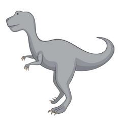 allosaurus icon cartoon style vector image vector image
