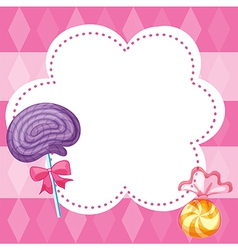Candy note vector