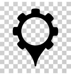 GPS Settings Icon vector