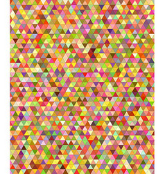Happy summer triangle mosaic background vector image