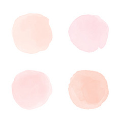 Light pink watercolor splash vector