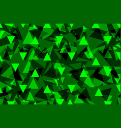 triangle background - green vector image