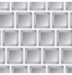 Seamless mosaic from gray squares vector image vector image