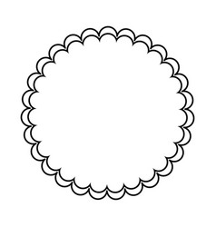 Blank stamp symbol vector
