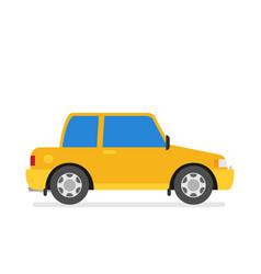 car flat icon vector image