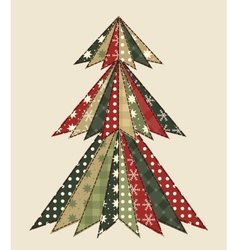 Christmas tree for scrapbooking 3 vector