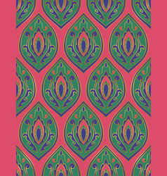 Colorful eastern pattern vector