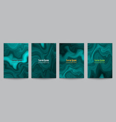 Creative artistic covers for design vector