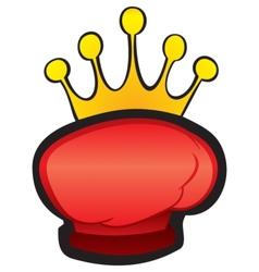 Fight winning symbol vector image