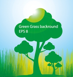 green-grass-background vector image