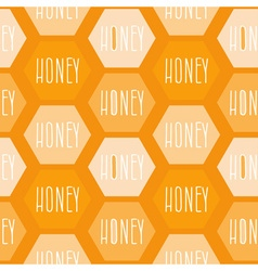 Honey Patterned Background vector