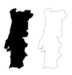 Portugal White Black Border Vector Images Over 100