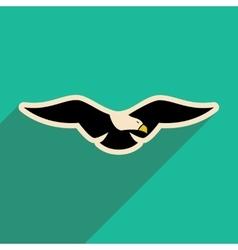 Stylish icon Eagle vector
