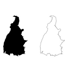 Tocantins map vector