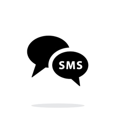 Phone dialogue icon on white background vector image vector image
