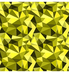 Seamless yellow abstract geometric pattern vector image vector image