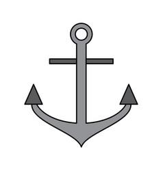 anchor navy icon image vector image