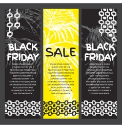 Black Friday sale vector image