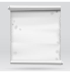 Gray parchment vector image