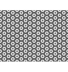 Honeycomb seamless pattern 4 vector image
