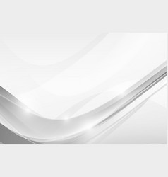abstract grey background with simply curve vector image