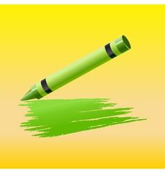 crayon vector image