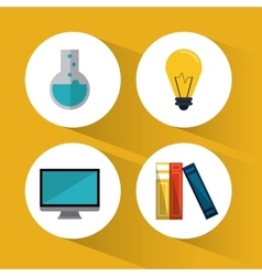 Education learning school design vector