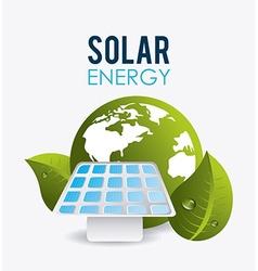 Green energy design vector image