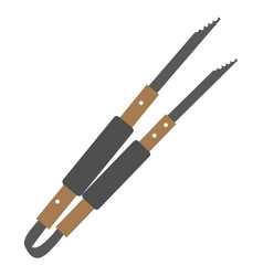 Isolated tweezers vector