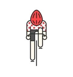 Modern of cyclist vector