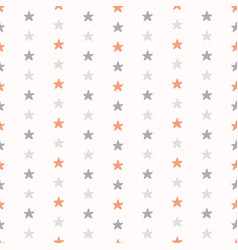 pastel tiny star shapes vector image