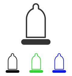 Preservative flat icon vector