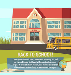 school orthogonal concept vector image