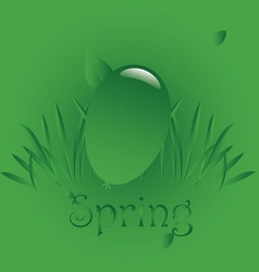 Spring easter 1 vector