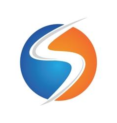 S Letter Logo vector image