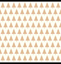creative christmas tree decorative pattern or gift vector image