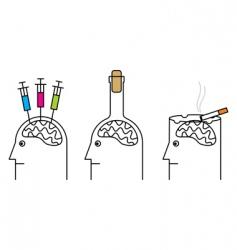 anti-smoking poster vector image