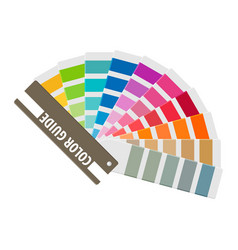 Color swatch rainbow tool for designer vector