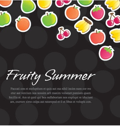 Fruity Background vector