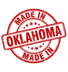 Made in oklahoma vector